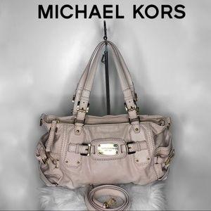 MICHAEL KORS Leather Crossbody Satchel